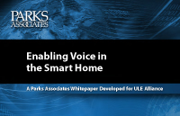Parks Associates research - Voice and Smart Home whitepaper